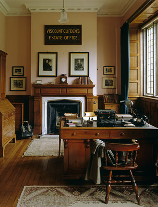 The stewards room