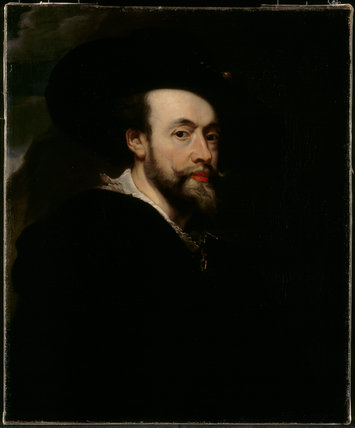 SELF-PORTRAIT, after Rubens, post-conservation at Chirk Castle (CHI/P/84)