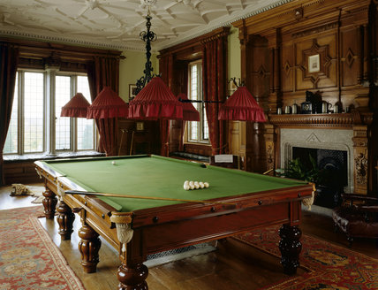 The Billiards Room At Lanhydrock Lanhydrock At National Trust