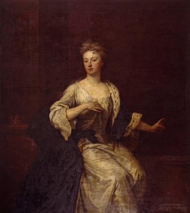 SARAH, DUCHESS OF MARLBOROUGH by Kneller at Petworth