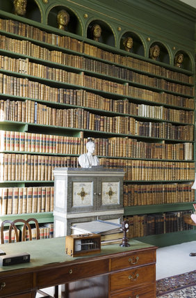 The Study at Belton House, Lincolnshire, UK