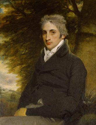 FREDERICK WILLIAM HERVEY (1769-1859), 1st MARQUESS OF BRISTOL by Hoppner