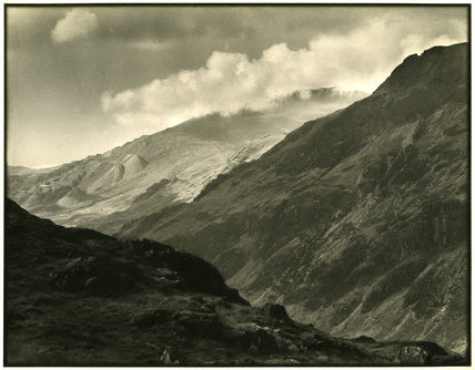 Llanberiss Pass from Bwlch Coch