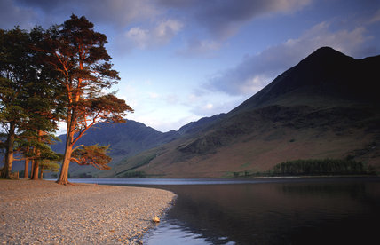 Glorious light at Buttermere, Lake District National Park