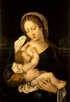THE MADONNA AND CHILD by Bernaert Van Orley (active 1515-1542)