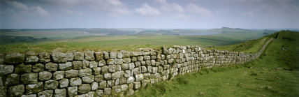 Panoramic view towards the east of the Wall at Hotbank