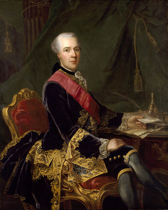 PORTRAIT OF SIR JOSEPH YORKE (d.s.p. 1792), mid 18th century post-conservation at Wimpole Hall.