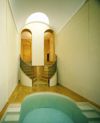 The bath at Wimpole Hall