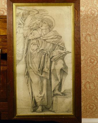 ANNUNCIATION by Edward Burne-Jones at Standen