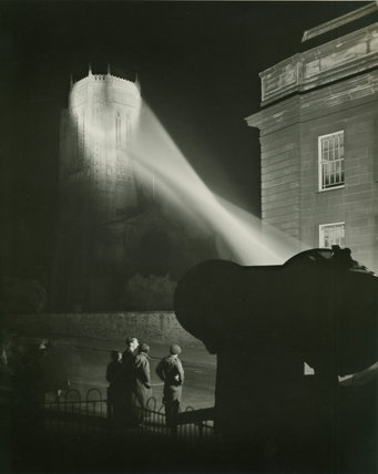 Searchlight on Anglican Cathedral