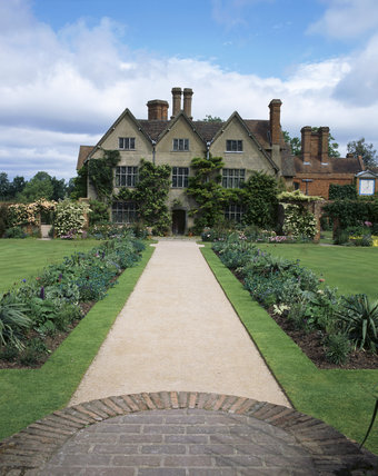 View of Packwood house from the Carolean garden