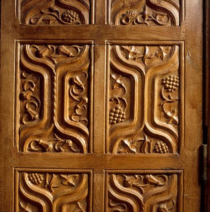 Barrington Court - Detail of the Great Hall Door