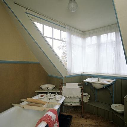 The Bathroom at A la Ronde, Devon