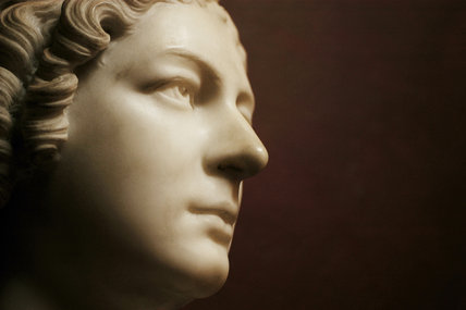 Mrs Harriet King daughter of the 3rd Earl of Egremont, George O'Brien Wyndham, by John Edward Carew (1785-1868) - Sculpture at Petworth House