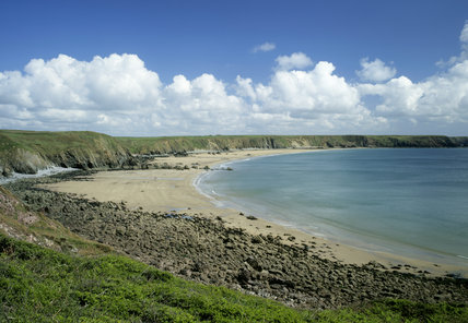 Marloes sands - a beautiful bay
