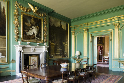 The Hondecoeter Room at Belton House, Lincolnshire, UK