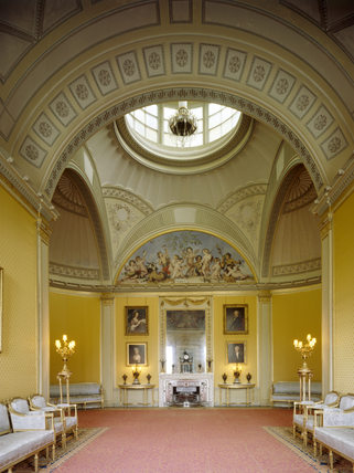 The Yellow Drawing Room Designed By Sir John Soane