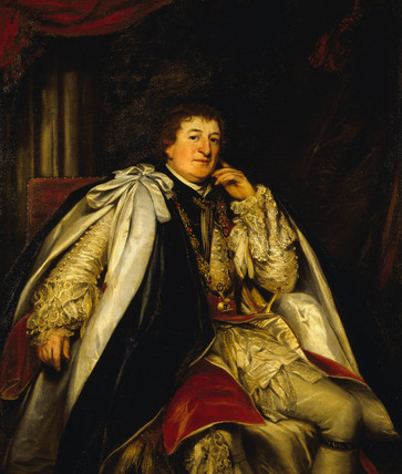 HUGH PERCY, 2nd DUKE OF NORTHUMBERLAND (1742-1817) by Thomas Phillips (1770-1845)