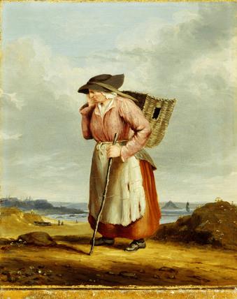 Dolly Pentreath Of Mousehole By R J Pentreath Circa 1840
