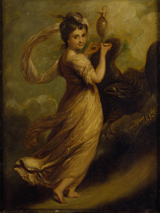 Painting Of Miss Meyer As Hebe By Angelica Kauffmann
