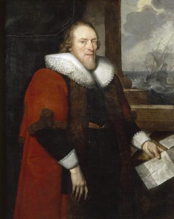 Portrait of 'SIR WILLIAM CORDELL'