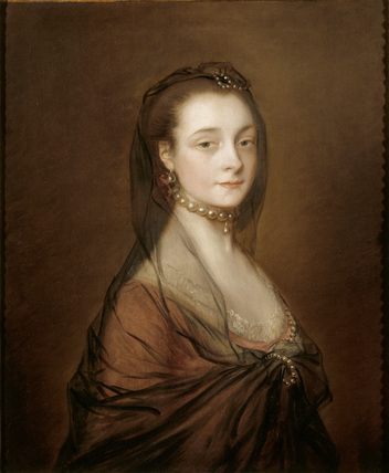 Portrait Of Elizabeth Cowper Wife Of Sir Archer Croft
