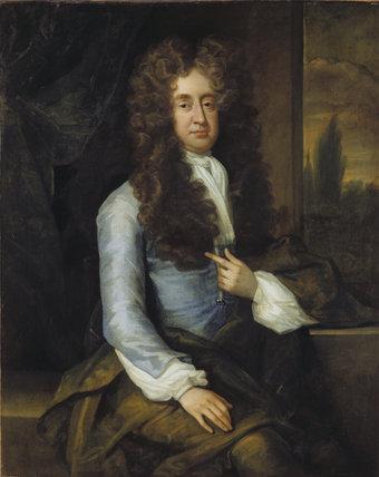 SIR JOHN HARPUR, 3rd BT, by Kneller