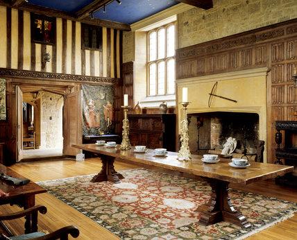 Barrington Court - Inside the Great Hall