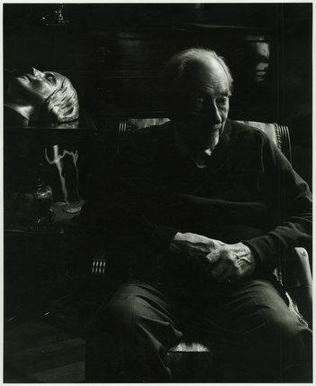 Edward Chambré Hardman in shadows