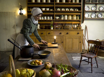 The Apprentice House Kitchen at Quarry Bank Mill, Styal