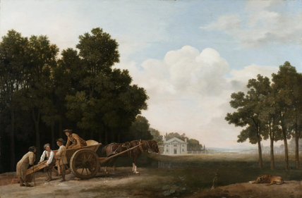 THE LABOURERS by George Stubbs A