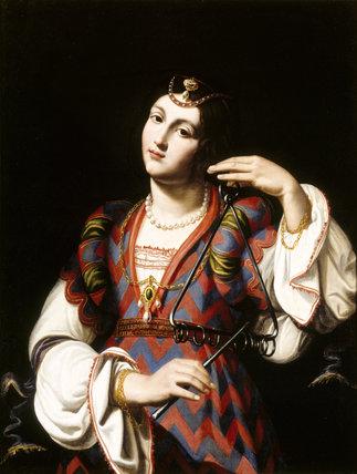 `JEPHTHAH' DAUGHTER' (66), by unknown artist, Florentine C17th