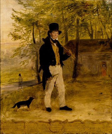 EDWARD BARNES, WOODMAN, English School, 19th-century from Erddig