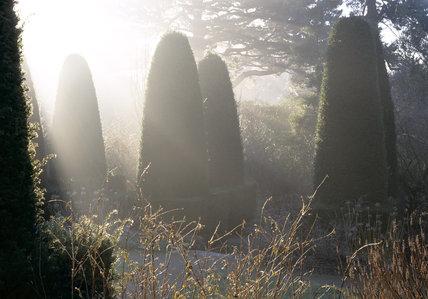 The Pillar Garden at Hidcote Manor Garden