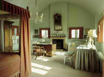 View of Lady Churchill's Bedroom at Chartwell