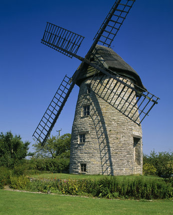Stembridge Tower Mill, the last thatched windmill in England