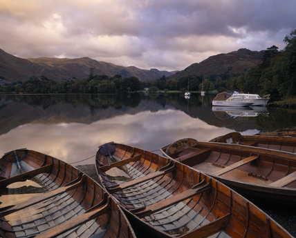 A view over Ullswater on a tranquil day