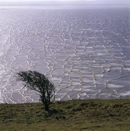View of the coast of the Bristol Channel taken from Brean Down, Somerset