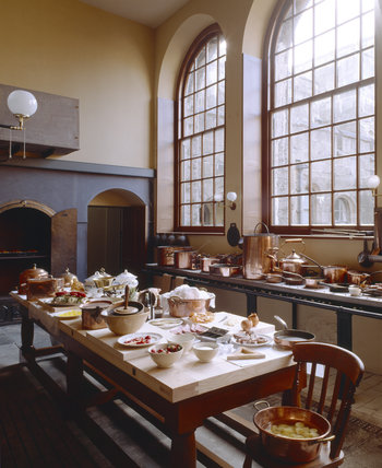 The Kitchen at Penrhyn Castle