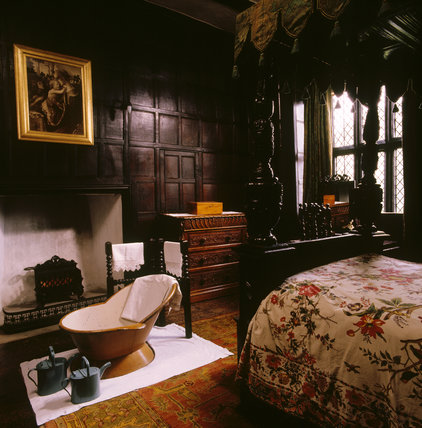The interior of the Green Room at Speke Hall, Speke Hall ...