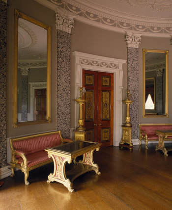 The Saloon, Castle Coole