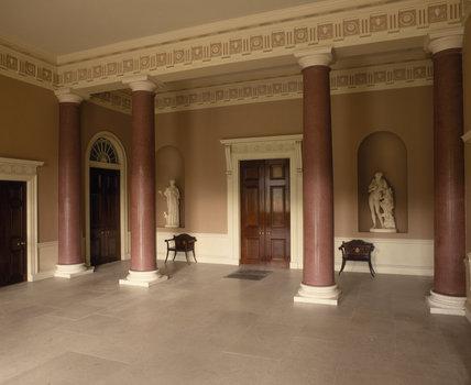 The Entrance Hall, Castle Coole