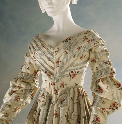 View of a pelisse-robe, c.1837-40