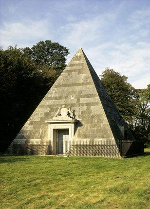 Mausoleum pyramid at Blickling Hall, designed by Joseph Bonomi 1796-97