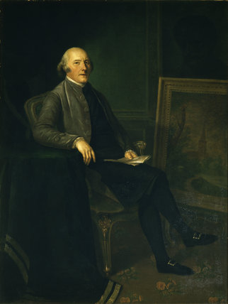 4TH EARL OF BRISTOL probably by Angelica Kauffman