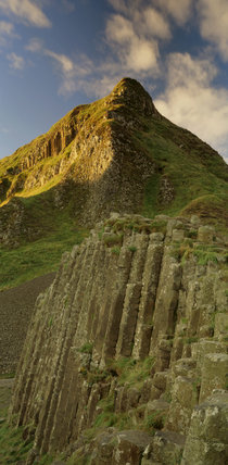The Giant's Causeway in Northern Ireland showing 'The Organ'