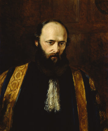 ROBERT GASCOYNE-CECIL, 3rd Marquess of Salisbury (1830-1903), artist unknown