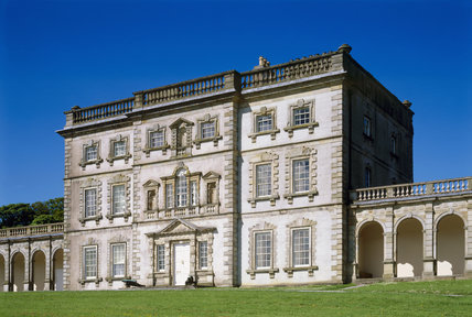 The East Front Of Florence Court A Mainly Mid 18th