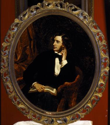 GEORGE SMYTHE, later 7th Viscount Strangford (1818-57) by R. Buckner at Hughenden Manor.