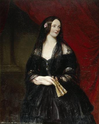 A portrait of LADY CASTLEREAGH, 1847 (m.1846 - d.1884)